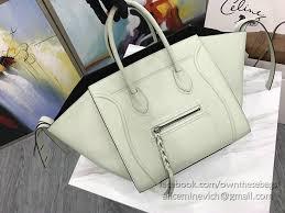 bag with light inside celine luggage phantom bag light green grained calfskin cl30033