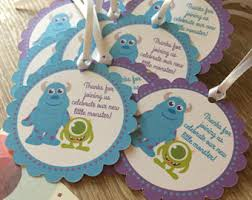 monsters inc baby shower ideas monsters inc baby shower etsy
