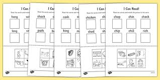 all worksheets consonant digraphs worksheets free printable
