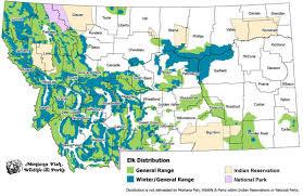 colorado population map elk population map my