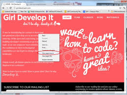 html online class girl develop it cincinnati intro to html css class 1