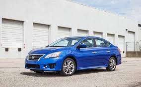 nissan sentra light blue 2013 nissan sentra sr editors u0027 notebook automobile magazine