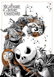 nightmare before halloween simon delart says u201cthis is halloween u201d with a sensational new print