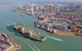 Queen Elizabeth Ii Ship by How Portsmouth Is Preparing For Hms Queen Elizabeth