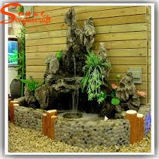 for home decoration artificial rockery fountains chinese water