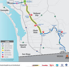 San Diego Public Transportation Map by Palomar Road Construction Signals Sweeping Change For South Bay
