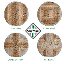 is quarter sawn wood more expensive four cuts of a log live sawn plain sawn quarter sawn and