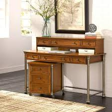 home styles the orleans 2 piece vintage caramel office suite 5061