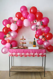 Balloon Centerpieces For Tables How To Make A Fancy Balloon Arch U2013 A Beautiful Mess