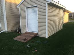 How To Build A Easy Shed by Build A Shed Ramp Home Construction Improvement