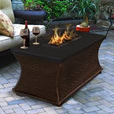 Propane Coffee Table Fire Pit by American Fireglass Mendocino Propane Fire Pit Table Wayfair