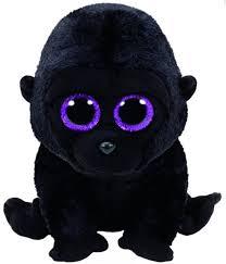 ty ty beanie boo george gorilla plush toys boswells