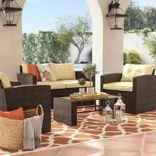 Living Room Wicker Furniture Sofa Outdoor Wicker Furniture High End Outdoor Wicker Furniture