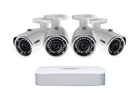 hd 1080p wire free security camera system with 4 black