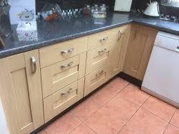 kitchen cabinet doors b q light oak colour shaker style inc glazed kitchen cabinet doors b q light oak colour shaker style inc glazed doors job lot