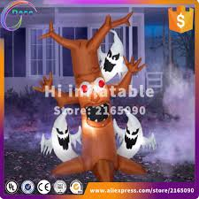 aliexpress com buy 3m high inflatable halloween spooky tree for