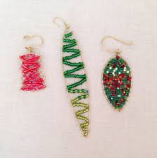 diy beaded ornaments rainforest islands ferry