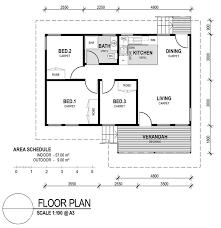 3 Bedroom Ranch Floor Plans Modest Ideas Small 3 Bedroom House Plans Floor Plan For Small 1200