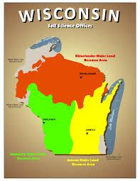 Aurora Map Mlra Soil Science Areas Nrcs Wisconsin