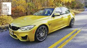 Bmw M3 Yellow 2016 - the bmw m3 with competition package is german punk the