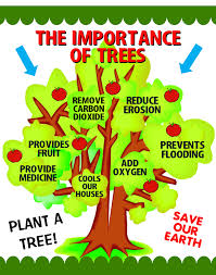 making green make a importance of trees poster arbor day poster ideas