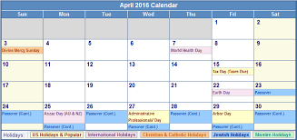 2016 calendar with uk holidays