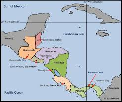 Central America And Caribbean Map by Central America Www Geo4u Net