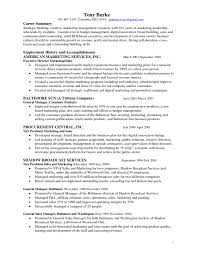 Resume Format Sales And Marketing Director Marketing Resume Free Resume Example And Writing Download