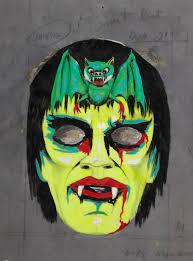bat mask halloween sundaponan vintage halloween mask design