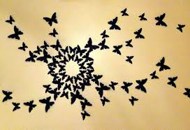 Diy Butterfly Decorations by Butterfly Wall Decorations Todosobreelamor Info