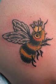 bumble honey bee tattoo designs bee tattoo design pinterest