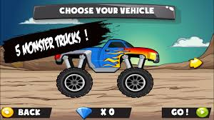 monster truck video game monster truck game for kids android apps on google play