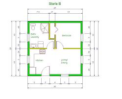 20 u0027 x 20 house design idea starla model