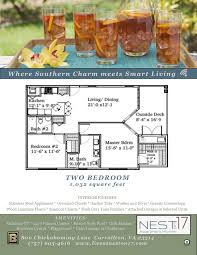 two bed two bath floor plans 2 bed 2 bath apartment in carrollton va the nest on 17