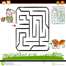 cartoon maze or labyrinth game download from over 27 million