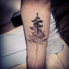 oak tree forearm tattos for