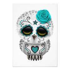cute sugar skull owl google search owl art pinterest sugar