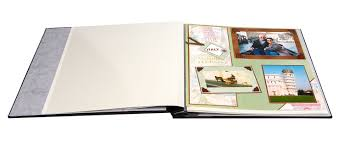 refillable photo albums post bound magnetic page album heritage fashion onyx
