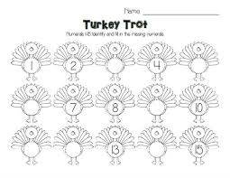 best photos of thanksgiving number worksheets numbers activity