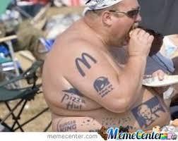 Old Man Tattoo Meme - nice tattoos fat man by xshaideenysaurus meme center