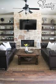 How To Decorate Floating Shelves Best 25 Floating Shelves For Tv Ideas On Pinterest Floating Tv