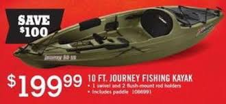 black friday tractor supply 2017 tractor supply co black friday journey 10 ft fishing kayak for