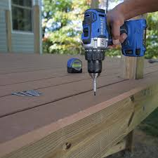 how to build a deck composite decking and railings