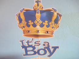 royal blue baby shower royal baby shower1cake toppersroyal princelittle