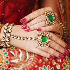 bridal bracelet with ring images 25 top examples of exquisite bridal jewellery on rent jpg