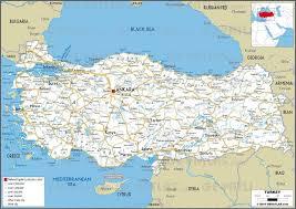 Georgia Road Map Turkey Road Map