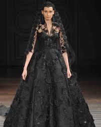 black wedding dresses chic black wedding dress for the edgy martha stewart weddings