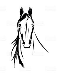 mustang horse silhouette horse clip art vector images u0026 illustrations istock