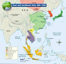Map East Asia by East And Southeast Asia 900 1200 History Pinterest