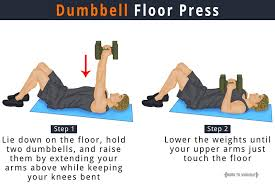 Close Grip Bench Press Benefits Dumbbell Floor Press Benefits How To Do Pictures